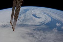 Basses pressions atmosphériques sur l'Atlantique Nord. Source : http://data.abuledu.org/URI/52c6da9b-basses-pressions-atmospheriques-sur-l-atlantique-nord