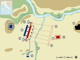 Bataille carthaginoise de La Trébie. Source : http://data.abuledu.org/URI/50eb63ea-bataille-carthaginoise-de-la-trebie