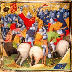 Bataille de Crécy. Source : http://data.abuledu.org/URI/5060f100-bataille-de-crecy
