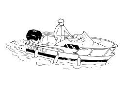 Bateau à moteur. Source : http://data.abuledu.org/URI/502531d5-bateau-a-moteur