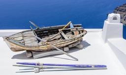 Bâteau à rame en cale sèche. Source : http://data.abuledu.org/URI/52cf2f9d-bateau-a-rame-en-cale-seche