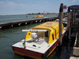 Bateau ambulance à Venise. Source : http://data.abuledu.org/URI/530cf0e4-bateau-ambulance-a-venise