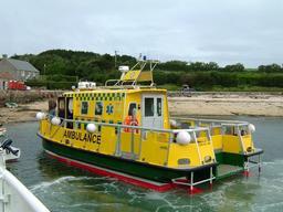 Bateau ambulance aux îles Scilly. Source : http://data.abuledu.org/URI/530cf23e-bateau-ambulance-aux-iles-scilly