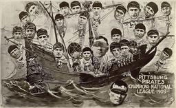 Bateau des Pirates de la Ligue de baseball de 1909. Source : http://data.abuledu.org/URI/52b0a1af-bateau-des-pirates-de-la-ligue-de-baseball-de-1909