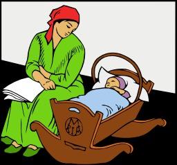 Bébé au berceau. Source : http://data.abuledu.org/URI/504752f9-bebe-au-berceau