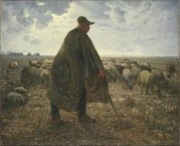 Berger et troupeau de moutons. Source : http://data.abuledu.org/URI/505e2c7b-berger-et-troupeau-de-moutons