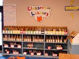Bibliothèque de classe. Source : http://data.abuledu.org/URI/529d08c3-bibliotheque-de-classe