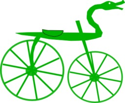 Bicyclette Célérifère. Source : http://data.abuledu.org/URI/50edd449-bicyclette-celerifere