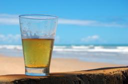 Bière à la plage. Source : http://data.abuledu.org/URI/501f0caf-biere-a-la-plage