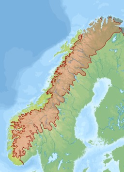 Biogéographie des alpes scandinaves. Source : http://data.abuledu.org/URI/50a028cf-biogeographie-des-alpes-scandinaves