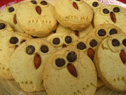 Biscuits en forme de hiboux. Source : http://data.abuledu.org/URI/5353a8ae-biscuits-en-forme-de-hiboux