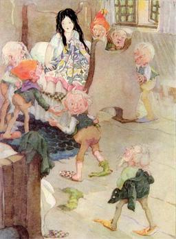 Blanche Neige et les sept nains. Source : http://data.abuledu.org/URI/5111999c-blanche-neige-et-les-sept-nains