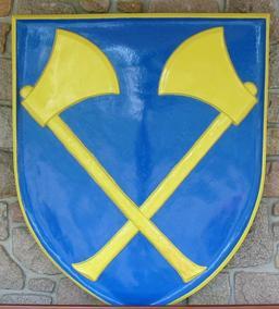 Blason aux deux Haches. Source : http://data.abuledu.org/URI/518a16ed-blason-aux-deux-haches