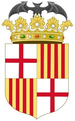 Blason de Barcelone. Source : http://data.abuledu.org/URI/52d70828-blason-de-barcelone