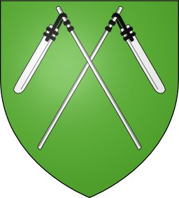 Blason de la ville d'Oberdorf dans le Haut-Rhin. Source : http://data.abuledu.org/URI/530b57d9-blason-de-la-ville-d-oberdorf-dans-le-haut-rhin