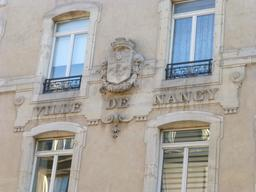 Blason de la ville de Nancy. Source : http://data.abuledu.org/URI/5819c53c-blason-de-la-ville-de-nancy