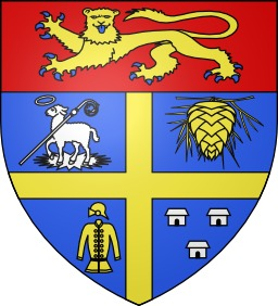 Blason de la ville de Saint-Jean-d'Illac. Source : http://data.abuledu.org/URI/51d9d0cf-blason-de-la-ville-de-saint-jean-d-illac