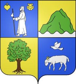 Blason de la ville de Saint-Just-Ibarre. Source : http://data.abuledu.org/URI/52801f01-blason-de-la-ville-de-saint-just-ibarre