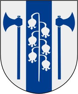 Blason de Mellerud en Suède. Source : http://data.abuledu.org/URI/539575c2-blason-de-mellerud-en-suede