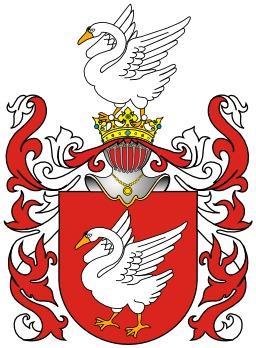 Blason polonais des cygnes. Source : http://data.abuledu.org/URI/5335f777-blason-polonais-des-cygnes