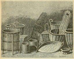 Boissellerie et vannerie. Source : http://data.abuledu.org/URI/524d8022-boissellerie-et-vannerie