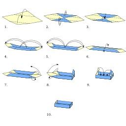 Boite en origami. Source : http://data.abuledu.org/URI/518ff056-boite-en-origami