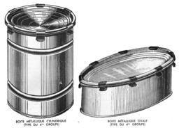 Boites métalliques à agrafes. Source : http://data.abuledu.org/URI/501e9555-boites-metalliques-a-agrafes