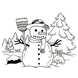 Bonhomme de neige. Source : http://data.abuledu.org/URI/52b5625a-bonhomme-de-neige