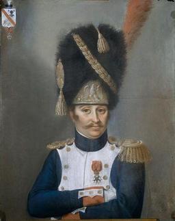 Bonnet en poils d'ours de grenadier de la garde impériale. Source : http://data.abuledu.org/URI/50fc625e-bonnet-en-poils-d-ours-de-grenadier-de-la-garde-imperiale