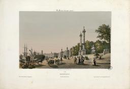 Bordeaux, Vue des Quinconces. Source : http://data.abuledu.org/URI/51c220ce-bordeaux-vue-des-quinconces