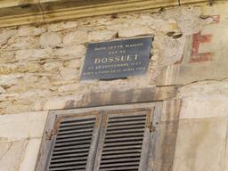 Bossuet à Dijon. Source : http://data.abuledu.org/URI/59268adc-bossuet-a-dijon