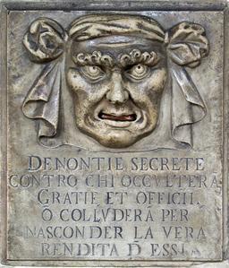 Bouche de lion à Venise. Source : http://data.abuledu.org/URI/505eff55-bouche-de-lion-a-venise