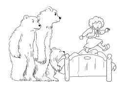 Boucle d'or et les trois ours. Source : http://data.abuledu.org/URI/50250ea3-boucle-d-or-et-les-trois-ours