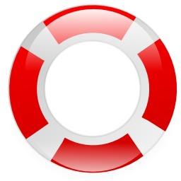 Bouée de sauvetage rouge et blanche. Source : http://data.abuledu.org/URI/504bbcf3-bouee-de-sauvetage-rouge-et-blanche