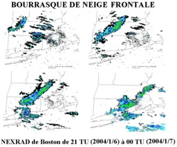 Bourrasques de neige sur radar. Source : http://data.abuledu.org/URI/5232f38d-bourrasques-de-neige-sur-radar