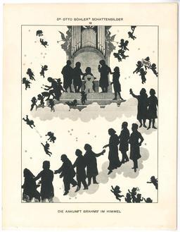 Brahms et ses admirateurs en silhouettes . Source : http://data.abuledu.org/URI/54bbad8a-brahms-et-ses-admirateurs-en-sihlouettes-