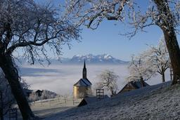 Brume du matin en Autriche. Source : http://data.abuledu.org/URI/54779b62-brume-du-matin-en-autriche
