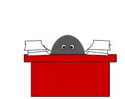 Bureau chargé de travail à faire. Source : http://data.abuledu.org/URI/5047b8e1-bureau-charge-de-travail-a-faire