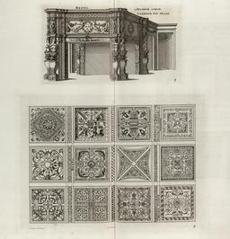 Bureau Renaissance au château de Madrid. Source : http://data.abuledu.org/URI/532ea286-bureau-renaissance-au-chateau-de-madrid
