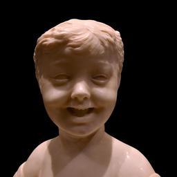 Buste d'enfant riant. Source : http://data.abuledu.org/URI/549dfd84-buste-d-enfant-riant