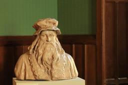 Buste de Léonard de Vinci. Source : http://data.abuledu.org/URI/55cbed18-buste-de-leonard-de-vinci