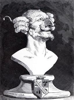 Buste du Baron de Munchausen. Source : http://data.abuledu.org/URI/521dd962-buste-du-baron-de-munchausen