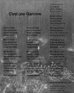 C'est une Garonne de Claude Nougaro. Source : http://data.abuledu.org/URI/5942f333-c-est-une-garonne-de-claude-nougaro