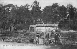 Cabane de résinier. Source : http://data.abuledu.org/URI/5131f65c-cabane-de-resinier