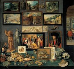 Cabinet de curiosités au XVIIème siècle. Source : http://data.abuledu.org/URI/505f434a-cabinet-de-curiosites-au-xviieme-siecle