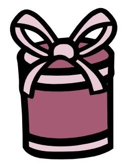 Cadeau rond. Source : http://data.abuledu.org/URI/5628d87f-cadeau-rond