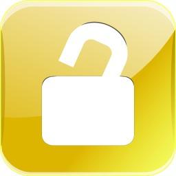 Cadenas entrouvert jaune. Source : http://data.abuledu.org/URI/54bff800-cadenas-entrouvert-jaune