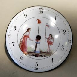 Cadran d'horloge décimale. Source : http://data.abuledu.org/URI/50ec6b23-cadran-d-horloge-decimale