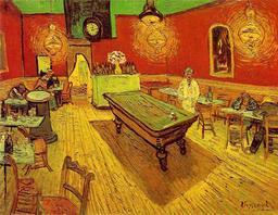 Café de nuit au billard. Source : http://data.abuledu.org/URI/51d95319-cafe-de-nuit-au-billard