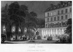 Café Turc à Paris en 1831. Source : http://data.abuledu.org/URI/58703b9d-cafe-turc-a-paris-en-1831
